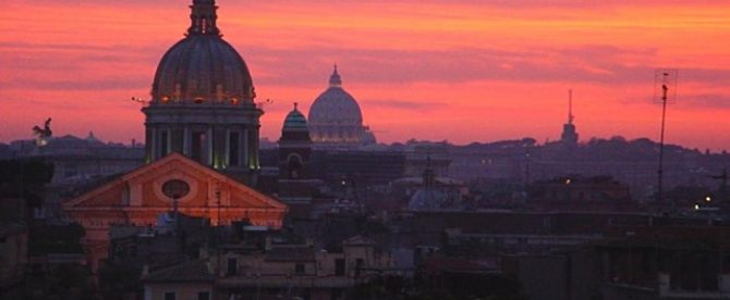 Top panoramic views in Rome